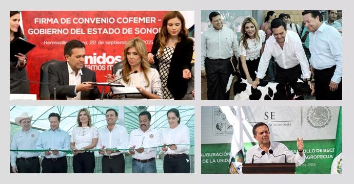 Gira de trabajo del Secretario de Economía en Sonora