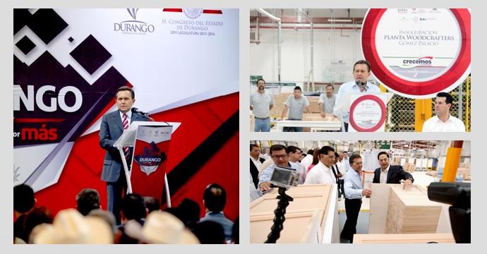 Visita de trabajo del Secretario de Economía a Gómez Palacio, Durango