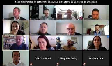 Se Instala el Comité Consultivo del Sistema de Comercio de Emisiones (SCE)