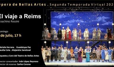 La Secretaría de Cultura, a través del INBAL, presenta esta ópera de Rossini en la plataforma Contigo en la distancia.