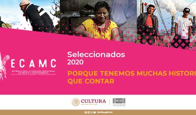 Imcine da a conocer los resultados de la segunda convocatoria del Estímulo para la Creación Audiovisual en México y Centroamérica para Comunidades Indígenas y Afrodescendientes (ECAMC).