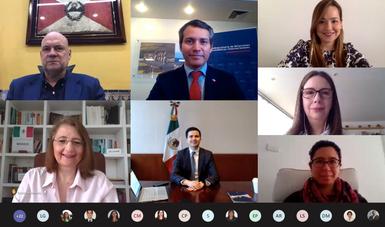Reunión virtual del Grupo de Alto Nivel de la Alianza del Pacífico