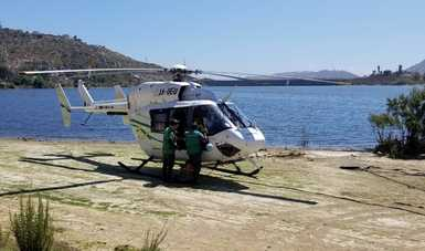 Para atender con mayor oportunidad el tema de incendios forestales en Baja California, la Comisión Nacional Forestal (CONAFOR) arrendó un helicóptero Tipo II.