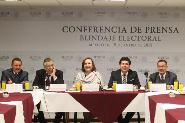 Instrumentación del Programa de Blindaje Electoral 2015