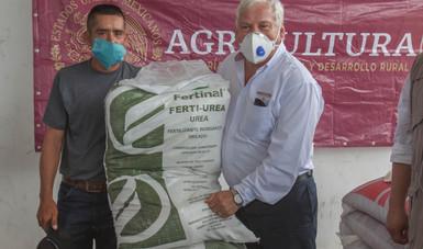 Supera programa de Fertilizantes en Guerrero la atención a 280 mil productores de pequeña escala.