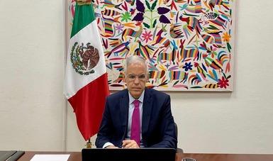 Celebran México y China la XVII Reunión del Mecanismo de Consultas Políticas