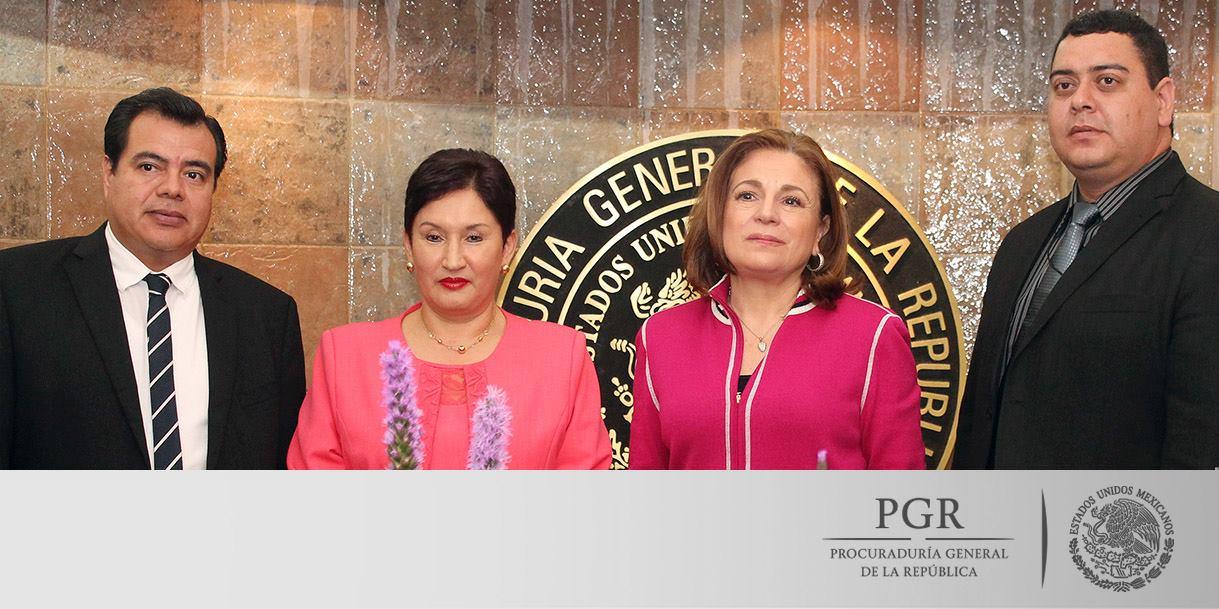 MÉXICO Y GUATEMALA INTERCAMBIAN PUNTOS DE VISTA SOBRE LOS MECANISMOS DE COOPERACIÓN EN MATERIA DE PROCURACIÓN DE JUSTICIA