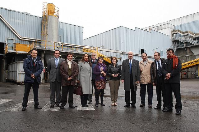 Funcionarios mexicanos realizan recorrido en plantas de separación y clasificación de residuos para la producción de biogás y digesto