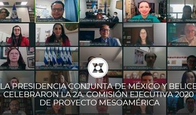 Países del Proyecto de Integración y Desarrollo de Mesoamérica abordaron temáticas, proyectos y programas en beneficio de 230 millones de habitantes de la región.