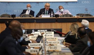 El Dr. Jesús Seade presenta su plan de trabajo para dirigir la Organización Mundial del Comercio