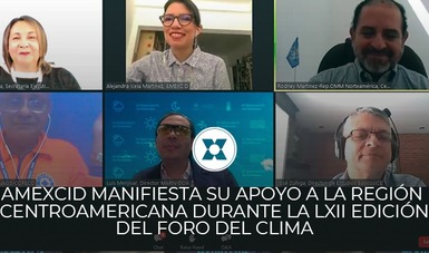 Para fortalecer la relación de México y los países que integran el Sistema de la Integración Centroamericana (SICA), se llevó a cabo acto inaugural de la LXII edición del Foro del Clima de América Central y del XIV Foro Hidrológico de América Central.