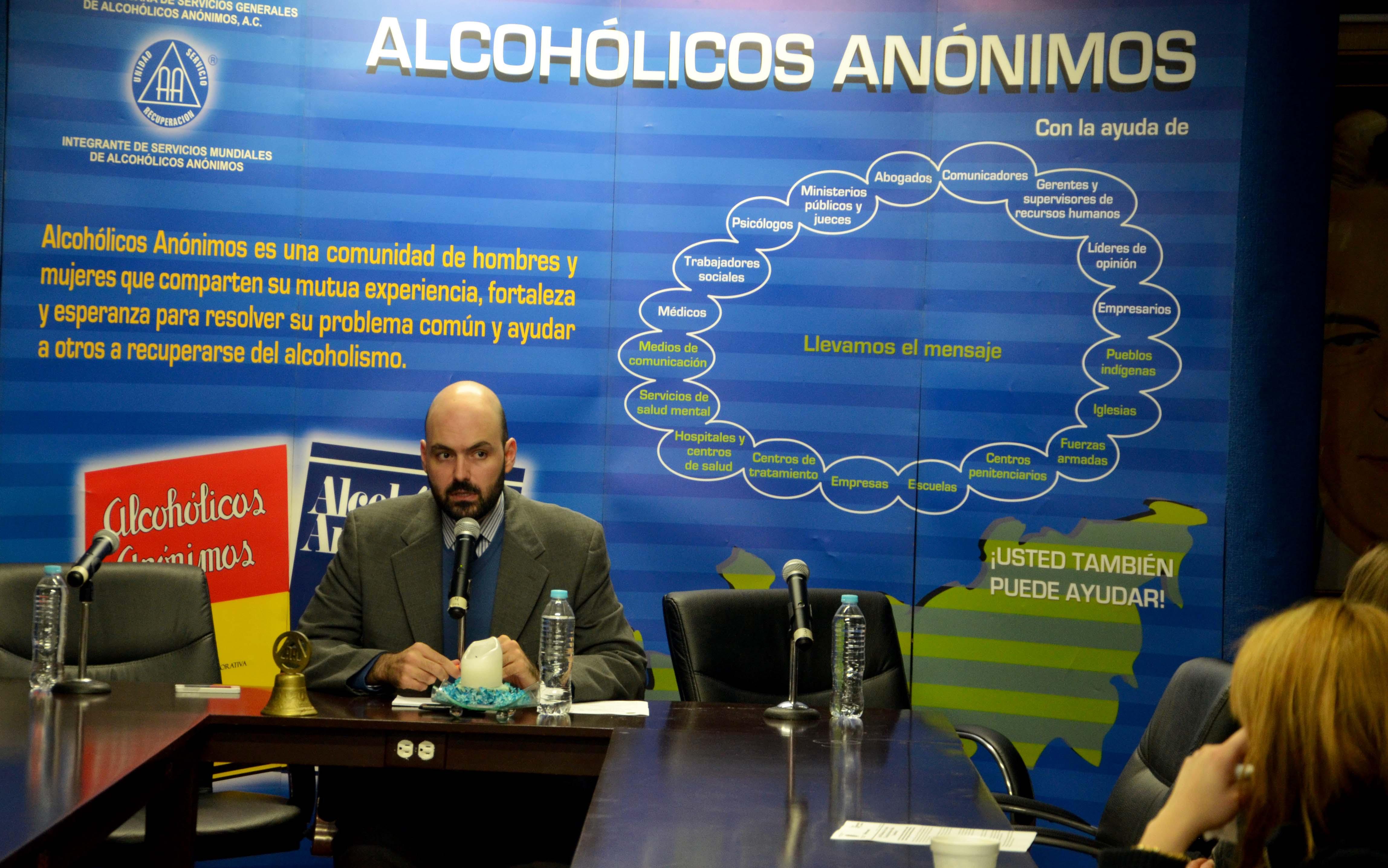 """EL próximo 19 de enero iniciará la vigésima Semana Nacional de Información sobre el Alcoholismo """"Compartiendo Esfuerzos"""""""
