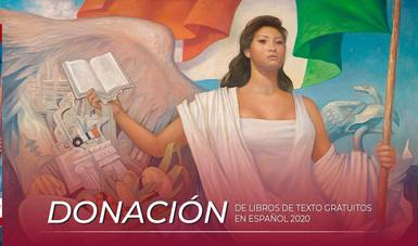 Donación de libros de texto gratuitos en español 2020