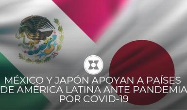 Ante COVID-19, AMEXCID y JICA acordaron otorgar un apoyo adicional a diez países, al amparo del Programa Conjunto México-Japón.