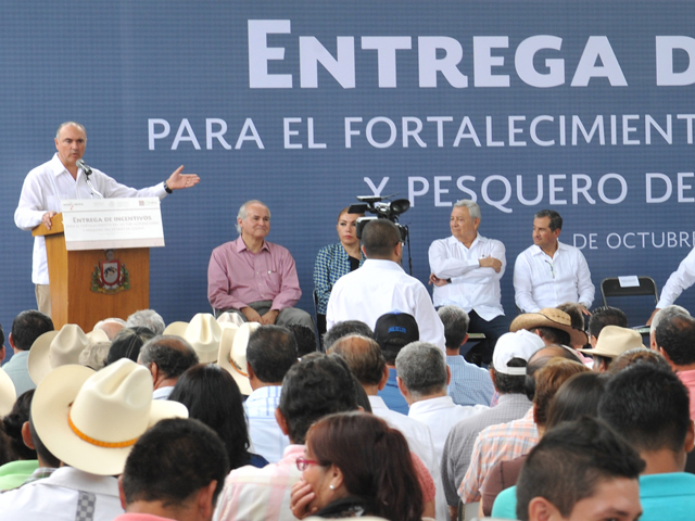 Ante agricultores y representantes de 22 Sistemas Producto, el titular de la SAGARPA precisó que la relación entre México y la República Popular China vive una nueva etapa de cooperación.