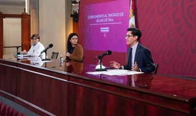 Está en el interés de México cumplir con el Tratado de Aguas de 1944
