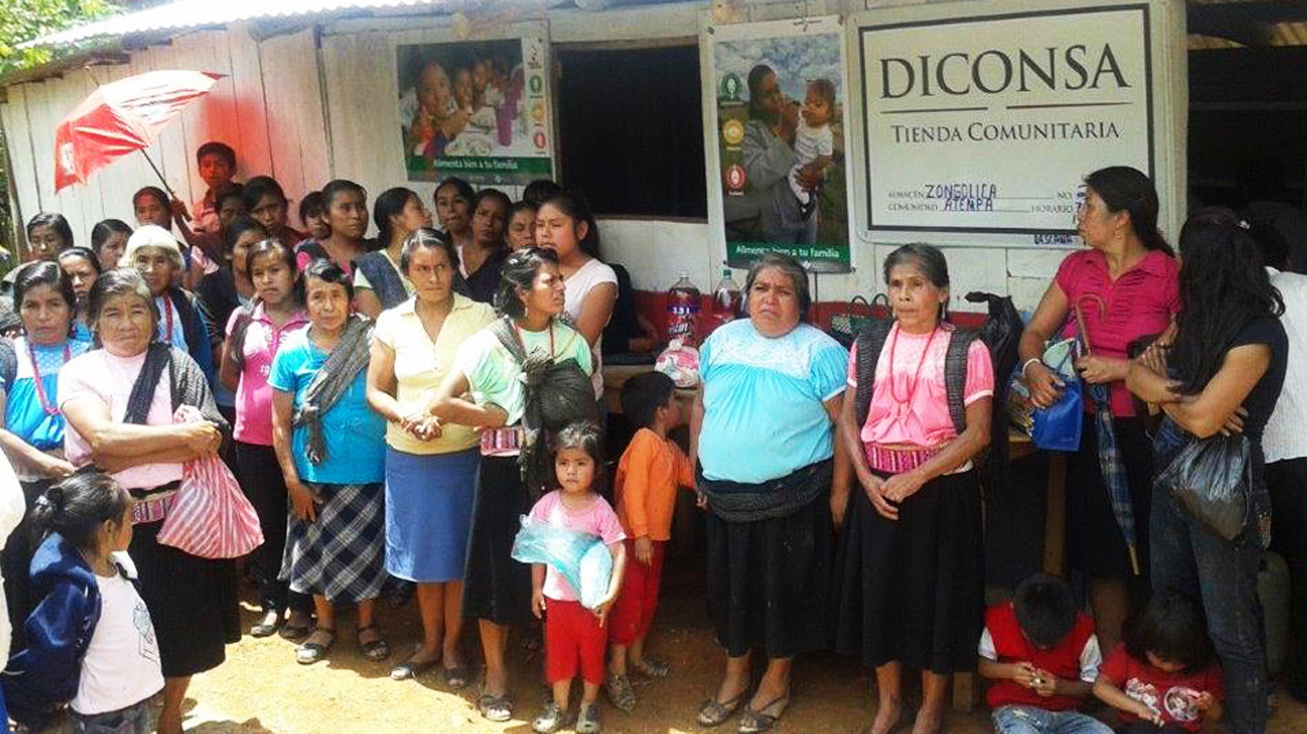 Inaugura Diconsa 11 tiendas comunitarias en zona serrana de Veracruz