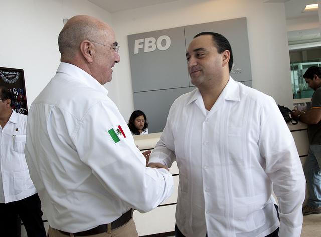 El Secretario Guerra y el Gobernador Borge abordaron temas ambientales prioritarios para Quintana Roo