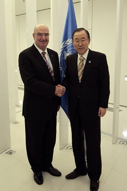Ban Ki-Moon expresó que México actúa con gran ambición para afrontar el cambio climático