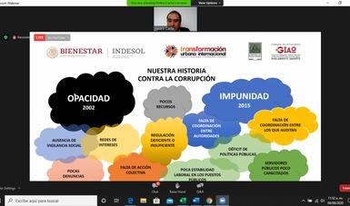 Webinar Indesol Transparencia y Anticorrupción para OSC