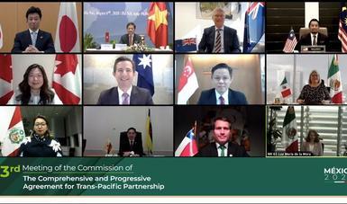 Concluye la Tercera Reunión de la Comisión del TIPAT, presidida por México