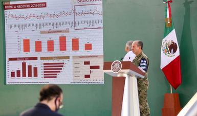 La Secretaría de Marina-Armada de México informa acciones realizadas en materia de seguridad.
