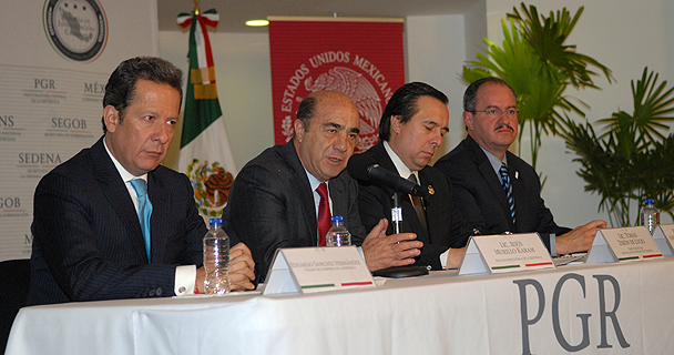 Rueda de Prensa sobre estado de investigaciones por sucesos en Iguala, Guerrero