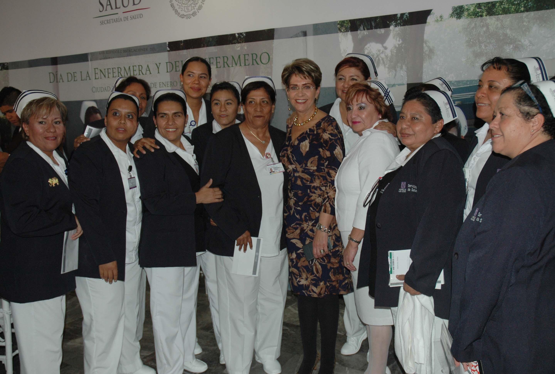 Ceremonia para conmemorar del Día de la Enfermera y del Enfermero 2015