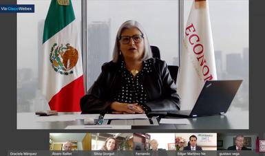 Ceremonia virtual de clausura del Diplomado en Negociaciones Comerciales Internacionales