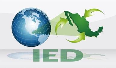 La economía mexicana recibió un flujo de IED por 17,969.3 millones de dólares durante el primer semestre de 2020