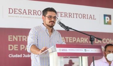 Román Meyer Falcón, secretario de Desarrollo Agrario, Territorial y Urbano.