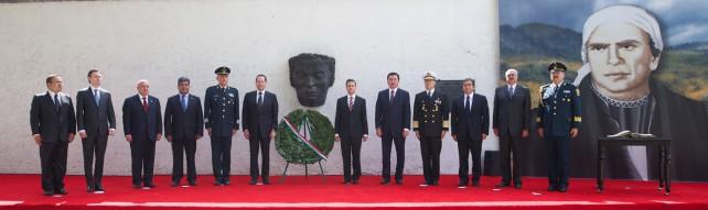 En los 23 postulados de los Sentimientos de la Nación, en el Congreso de Chilpancingo y en la Constitución de Apatzingán, dejó un ideario de renovada vigencia en los tiempos de transformación que hoy vive México.