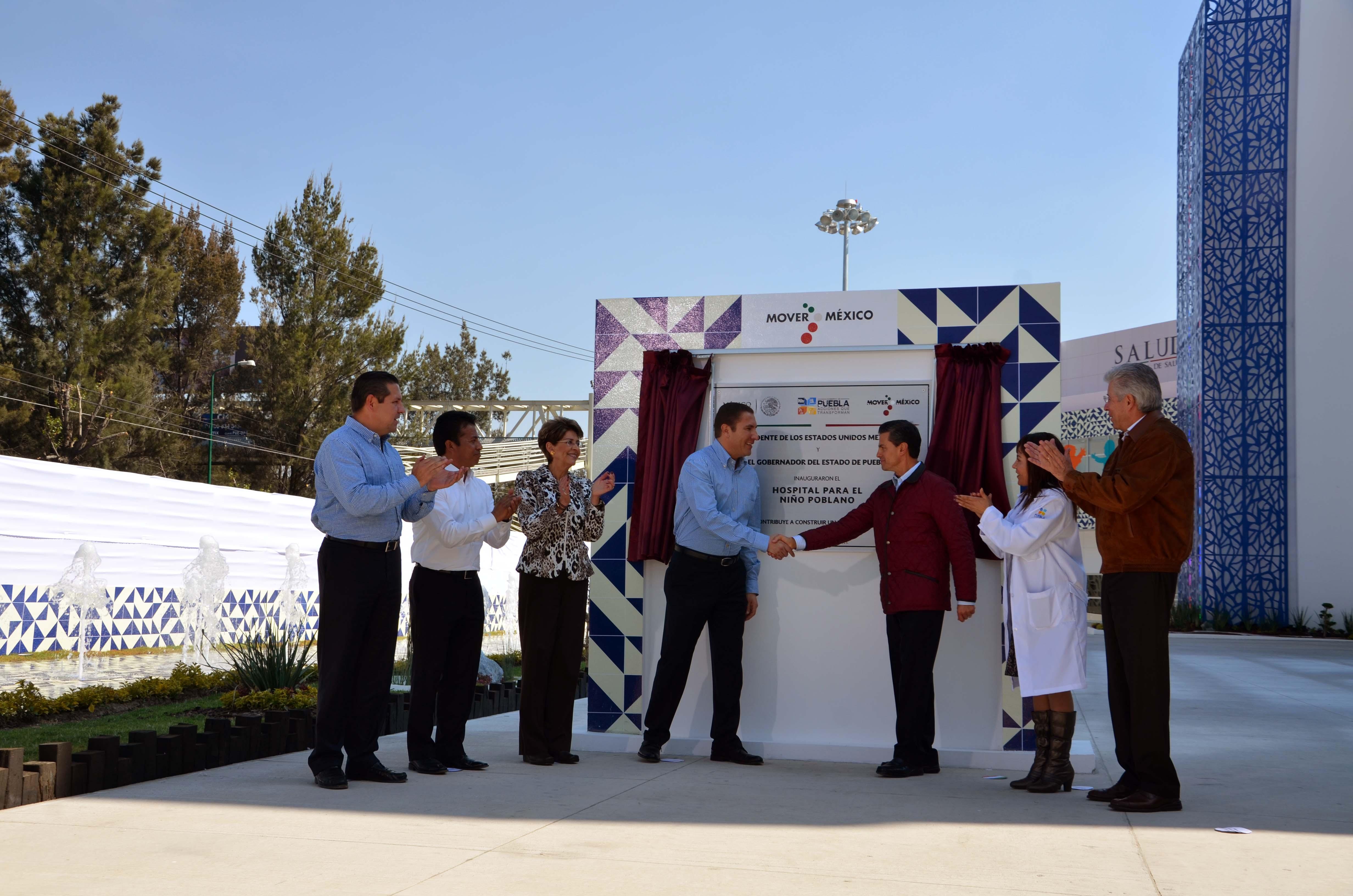 Puesta en marcha de las áreas en remodelación del Hospital del Niño Poblano