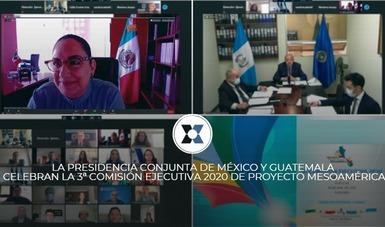 Los 10 países miembros del Proyecto de Integración y Desarrollo de Mesoamérica se reunieron de manera virtual, para abordar temáticas, proyectos y programas que benefician a más de 230 millones de habitantes de la región.