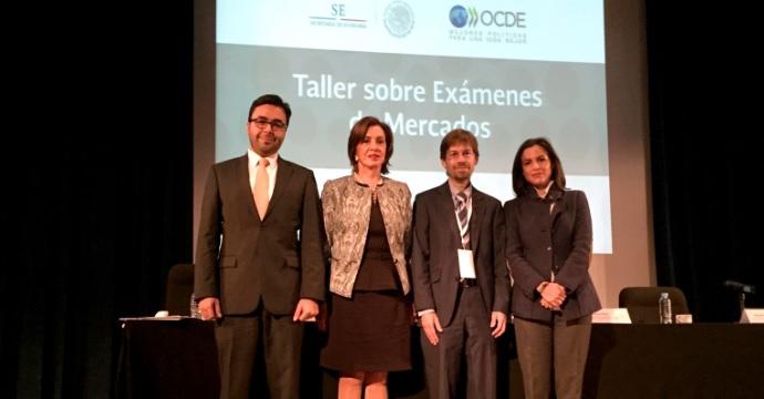La Secretaría de Economía y la OCDE presentan Manual y talleres sobre Exámenes de Mercados