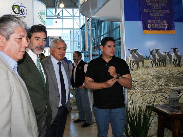 Participación del coordinador general de Ganadería, Francisco Gurría Treviño, en el VII Congreso Internacional del Borrego 2015.
