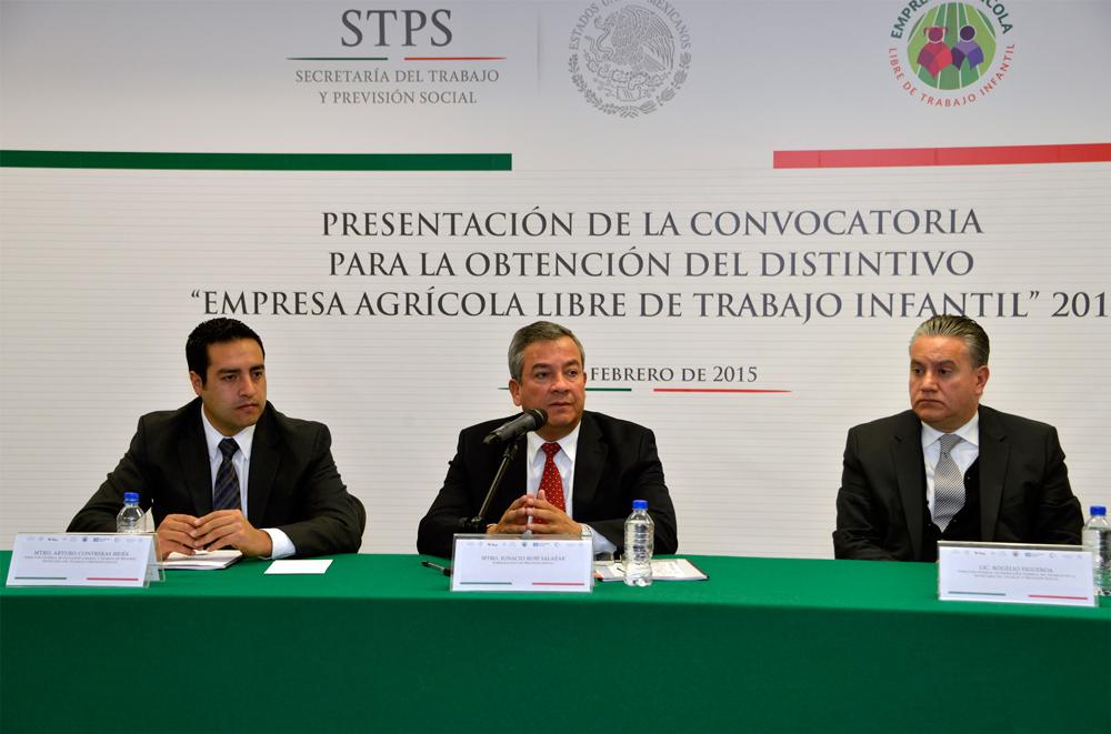 El Subsecretario de Previsión Social de la STPS, Ignacio Rubí Salazar, enmarcó al DEALTI dentro de un contexto de política de Prevención y Erradicación del Trabajo Infantil.