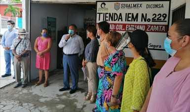 Abren tiendas Segalmex atendidas por mujeres víctimas de violencia