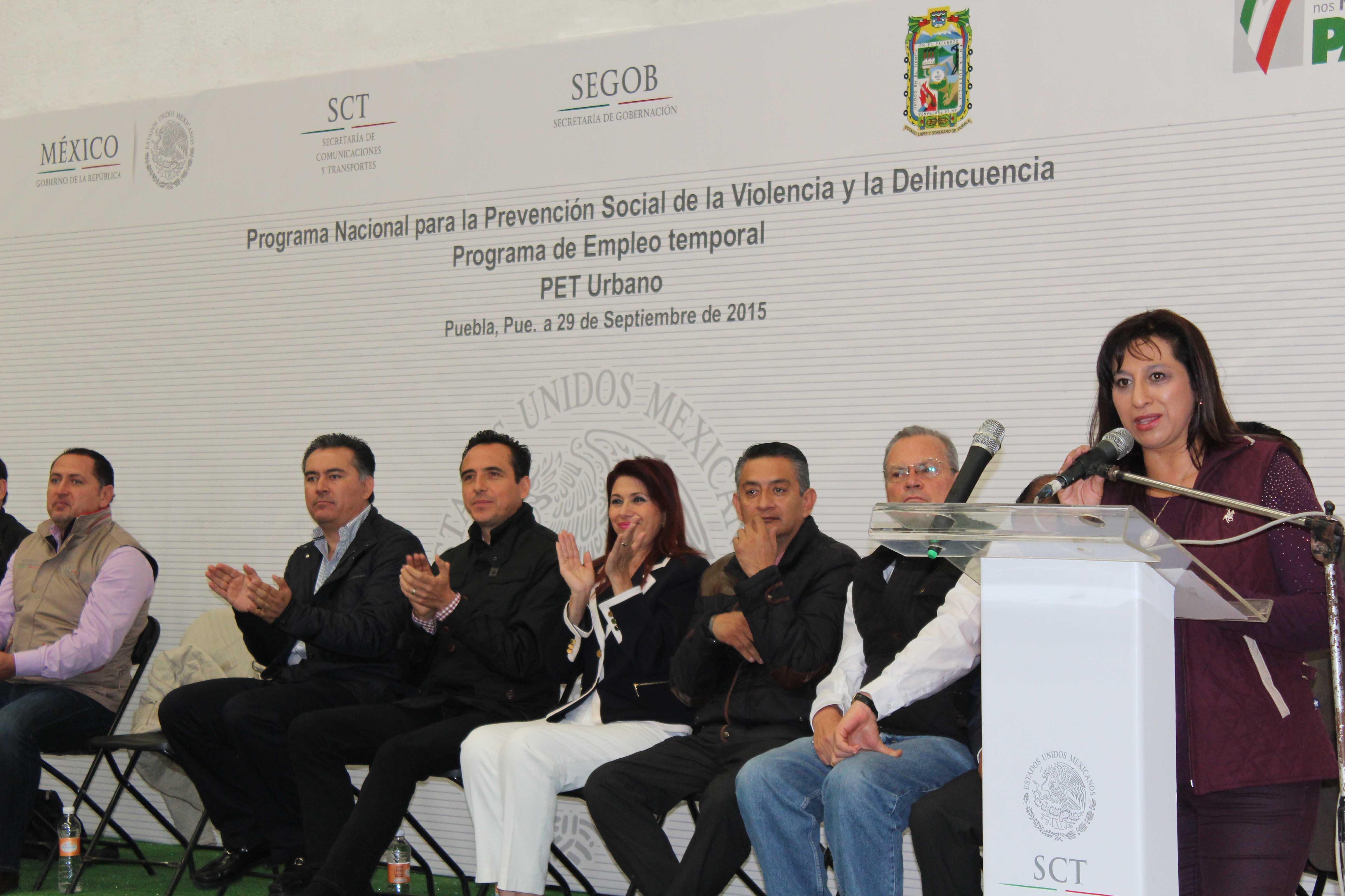 Avanza Programa de Empleo Temporal en zonas urbanas