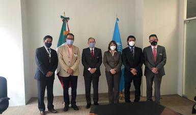 SRE da la bienvenida al nuevo representante en México de la Oficina de la Alta Comisionada de las Naciones Unidas para los Derechos Humanos