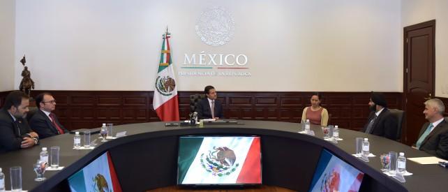 El Titular del Ejecutivo Federal y el directivo de MasterCard coincidieron en destacar la importancia de la Reforma Financiera en el impulso de la inclusión financiera en México.