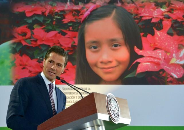 Hace más de 40 años, México fue pionero al hacer de su política de población una auténtica política de Estado, dijo el Presidente Peña Nieto.
