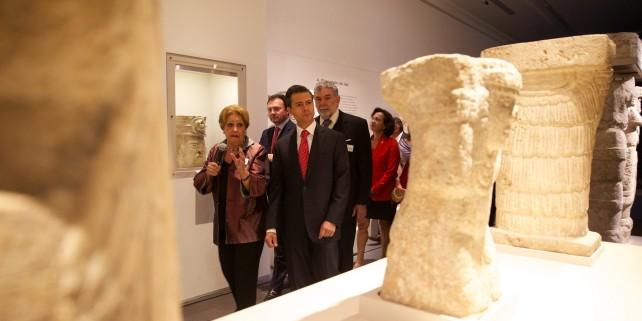 En buena hora por esta exposición y creo, sin lugar a dudas, es una de las muestras más importantes sobre el arte del México antiguo, sobre el arte prehispánico que se han presentado en nuestro país.