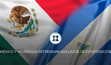 México y Nicaragua refrendan sus lazos de cooperación con la aprobación del X Programa de Cooperación Técnica y Científica Bilateral.