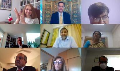 México e India celebran la V Reunión del Grupo Trabajo de Alto Nivel