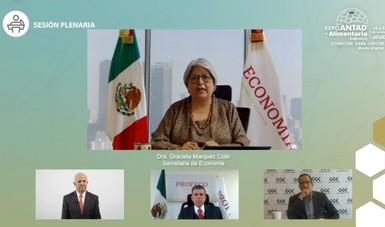 Mensaje, presentación y declaratoria inaugural, de la secretaria de Economía, en la sesión plenaria Expo ANTAD & Alimentaria México 2020