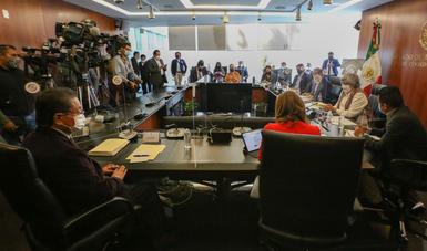 Versión del mensaje inicial de la secretaria de Economía, Graciela Márquez Colín, en Comparecencia en la Comisión de Economía del Senado de la República, como parte de la glosa del Segundo Informe de Gobierno.