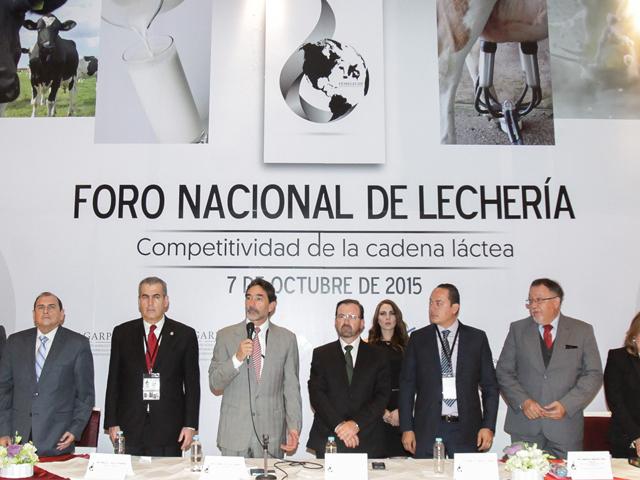 Inauguración del Foro Nacional de Lechería 2015.