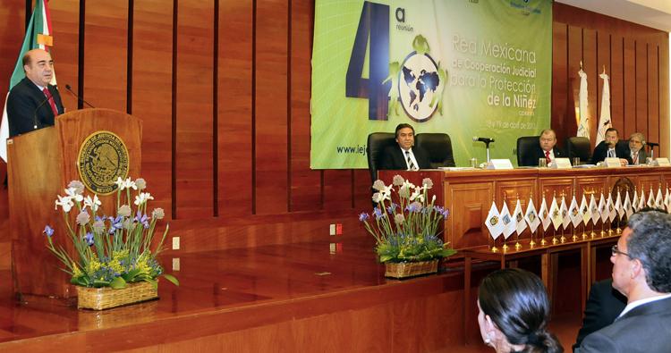 Mensaje del Procurador General de la República, Jesús Murillo Karam en el TSJDF