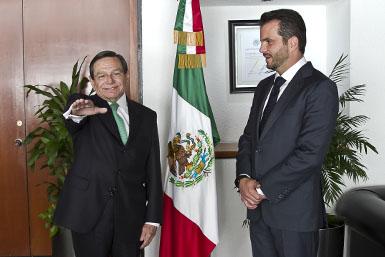 Jorge Carlos Hurtado Valdez, nuevo Oficial Mayor.